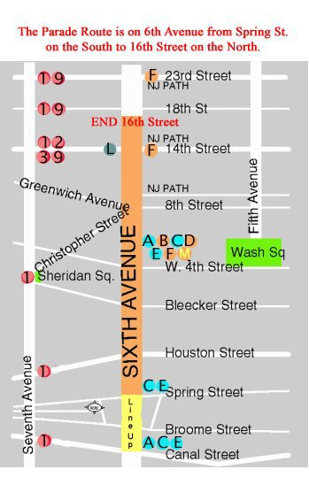 Nyc Halloween Parade 2020 Map Watch   NYC Village Halloween Parade
